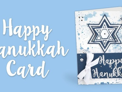 How To Make A Happy Hanukkah Card | Sizzix