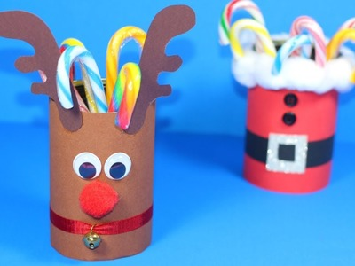 How to Make a Reindeer Candy Holder | Christmas Crafts for Kids