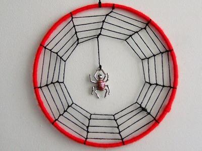 How To Make A Spider Web Dream Catcher