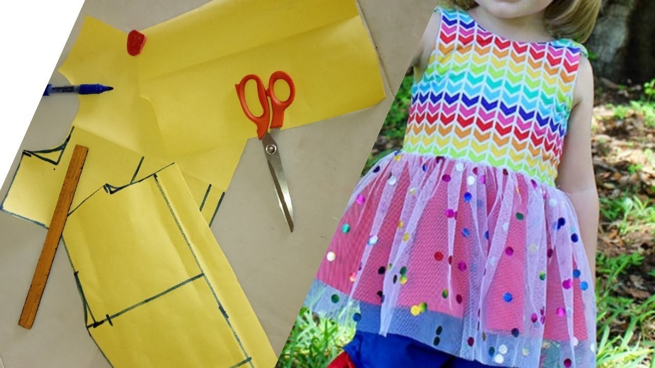 HOW TO MAKE CHILDREN BALL DRESS PATTERN