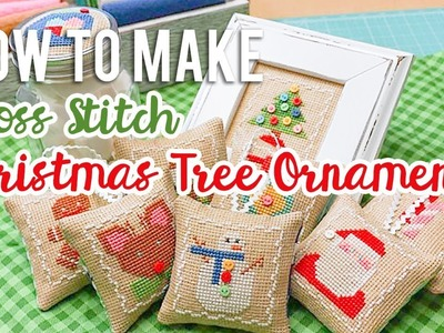 How to Make Cross-Stitch Ornaments with Lori Holt | Fat Quarter Shop