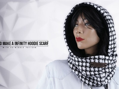 How to Make Infinity Hood Scarf