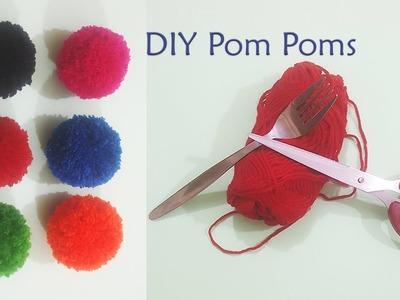 How to make perfect pompom, Pom Pom maker Tutorial.