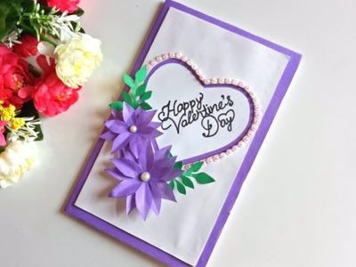 How to Make - Valentine's Day Pop Up Card.Handmade love card making ideas.