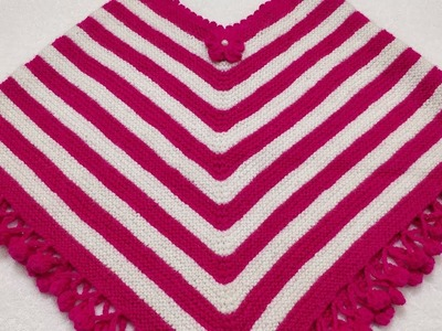 How to Make Very Beautiful Poncho