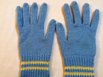 How to make Woolen gloves