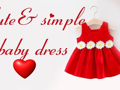 How to sew a cute and simple Christmas dress