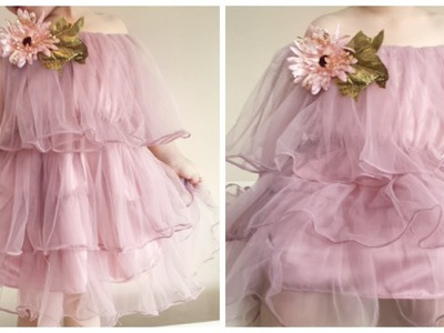 How to sew a dress   Babies dresses   Baby girls frock