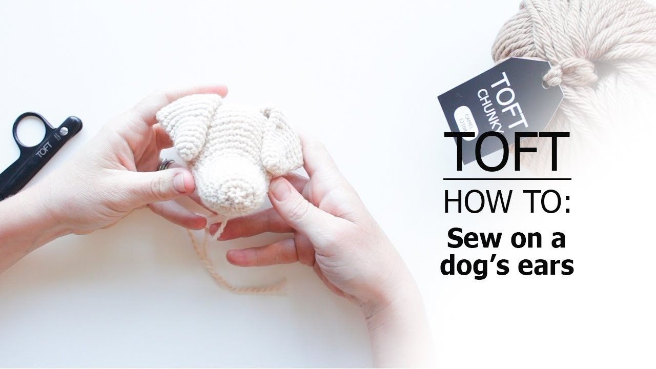How to: Sew on Dogs' Ears