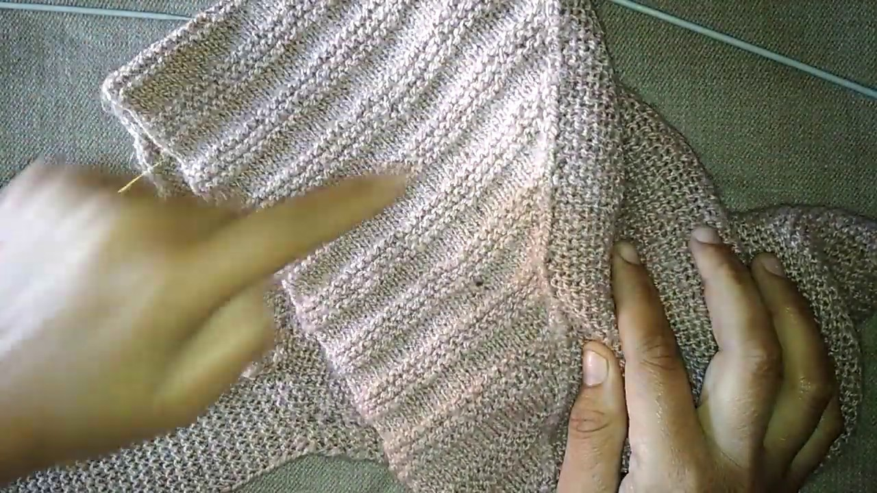 Knitting scarf for girls. ladies(part2)