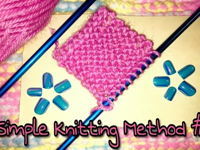 Knitting Tutorial #1: Beginners Level Pattern