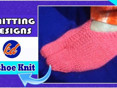 New Beautiful Knitting pattern Design 2018  *Toe Shoes*