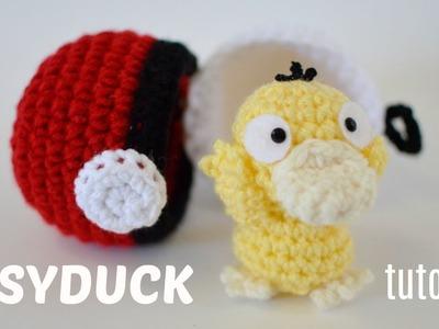 Psyduck Amigurumi Tutorial - Crochet Pokemon