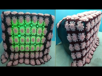 WOW!Amazing TV Cover.How to make TV Cover,Laptop,Table mat With out crochiya.makingTV & Laptop cover