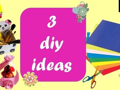 3 easy and inexpensive diys   rental apartment decor ideas   diy makeup organizer   easy gift box
