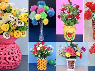 7 Best Out of Waste Flower Pot Idea | DIY Projects | Handmade Things