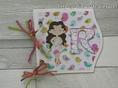 AlinaCraft DT Projects Share-Easter.Chef Dolls.Cafe.gift box