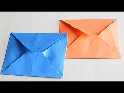 DIY - Envelope Making With Paper [Without Glue Tape and Scissors] at Home