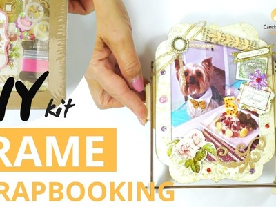 DIY How to Make Decoupage & Scrapbooking Wooden Frame Kits