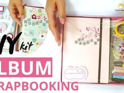 DIY How To Make Decoupage & Scrapbooking Album Set Kits Tutorial