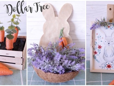 Dollar Tree DIY Farmhouse Easter Decor Crafts