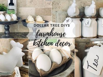 Dollar Tree Farmhouse Kitchen DIY