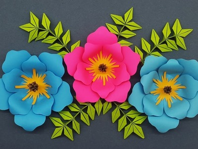 How to Make Paper Flowers for Decorations - DIY Paper Crafts