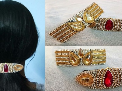 HOW TO TURN DESIGNER HAIR CLIPS WITH WASTE HAIR CLIPS