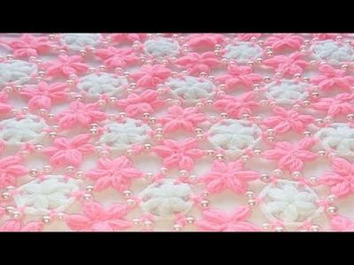Moti thalposh ke design, Crosia Thalposh, woolen design thalposh #84,by||Santosh All Art ||