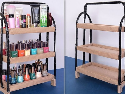 Multi Use.  Best Out Of Waste Idea 2019 || DIY Room Organizer !!!