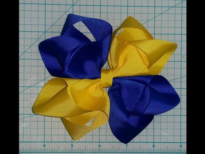 Octopus 2.0 (blooming octopus) bow 2 colors with a twist