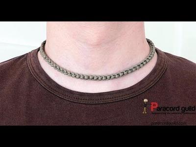 Paracord necklace- quick deployment