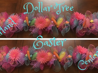Simple and Inexpensive Easter Centerpiece or Garland Tutorial