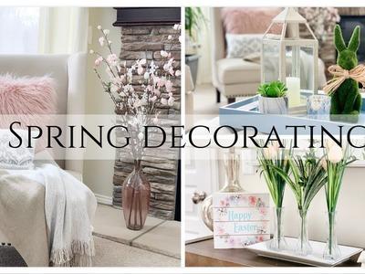 SPRING DECORATE WITH ME 2019 | DOLLAR TREE SPRING DECOR IDEAS | DECOR INSPIRATION