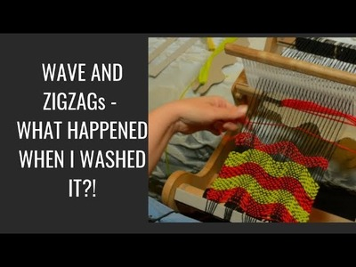 Waves and zigzags - what happened when I washed it?