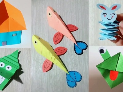 33 Lovely Paper Crafts - DIY Craft Ideas - Very Easy To Make