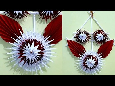 Art and Craft Ideas !!! Wall Hanging New Design Craft Out of Paper !! DIY Room Decor 2019