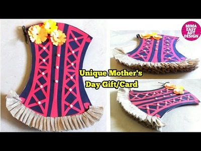 Best Unique DIY gift Craft for MOM |Handmade Card.Album making for mother.sister.parents mimaeasyart