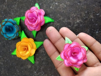 DIY Paper Flowers | Easy Paper Flower | Paper Craft Ideas | The Best Satisfying video