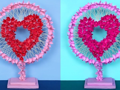 DIY Unique Heart Showpiece Idea | Handmade Craft | DIY Project