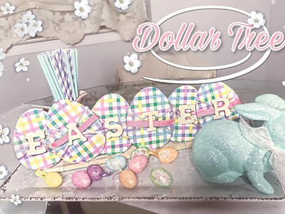 EASTER SIGN DIY | Dollar Tree Easter DIY