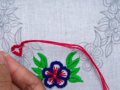 Hand Embroidery, Neckline embroidery for dresses, Latest neckline design