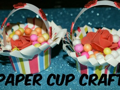 How To Make Basket From Paper cup.Amazing Paper Cup Craft.Best out of waste.DIY Art & Craft Ideas