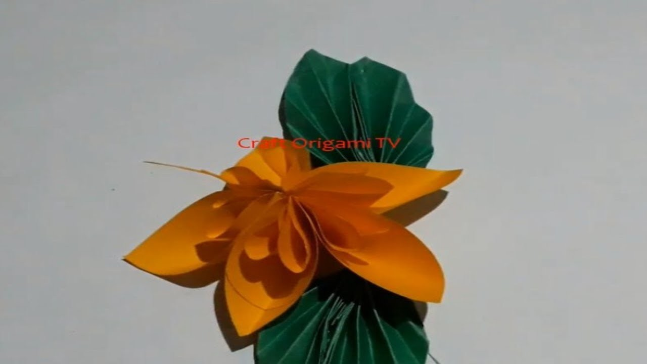 How To Make Colorful Paper Flower  And Get Various Easy Craft Ideas|Giant Paper Origami Decorations