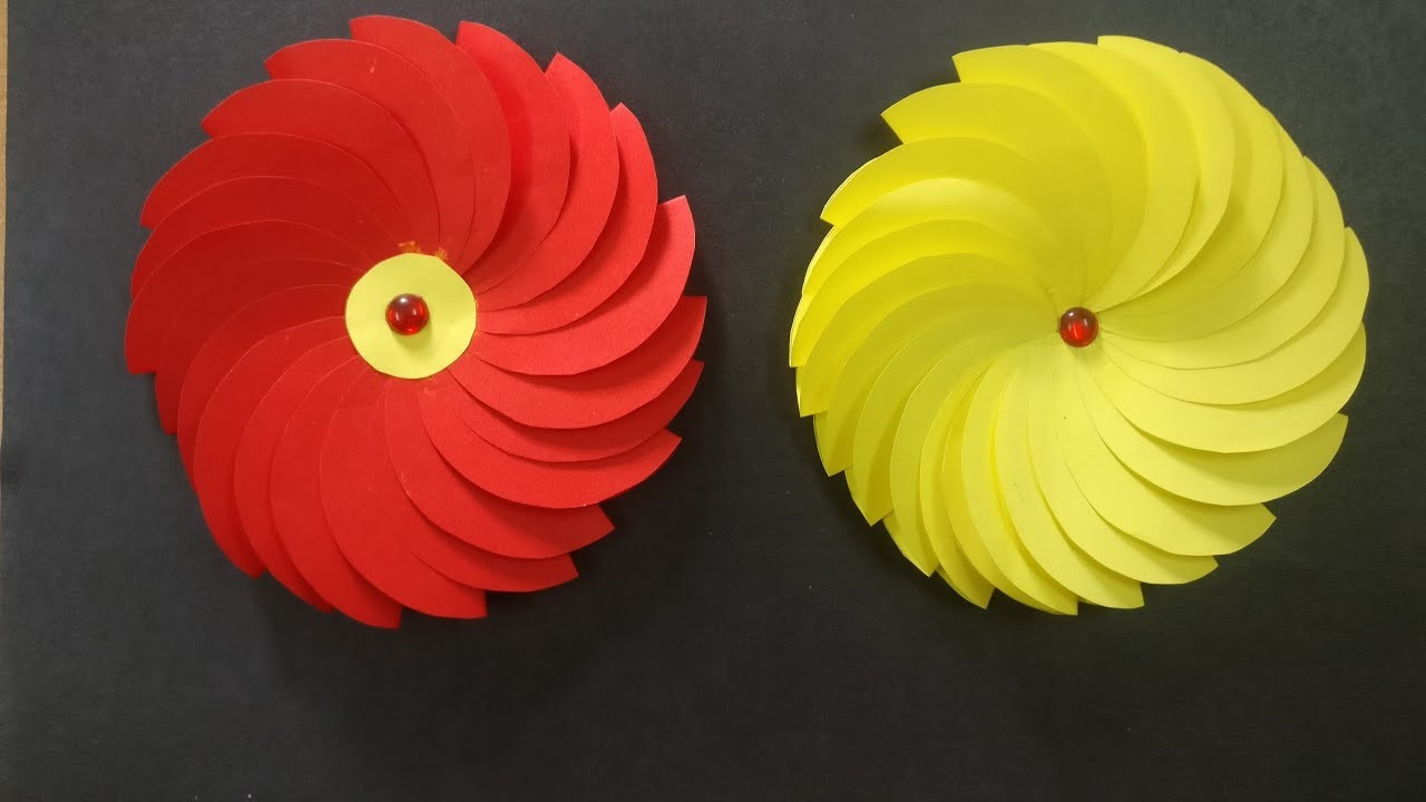 How To Make Easy Paper Flowers | DIY | Paper Craft | Decoration Ideas