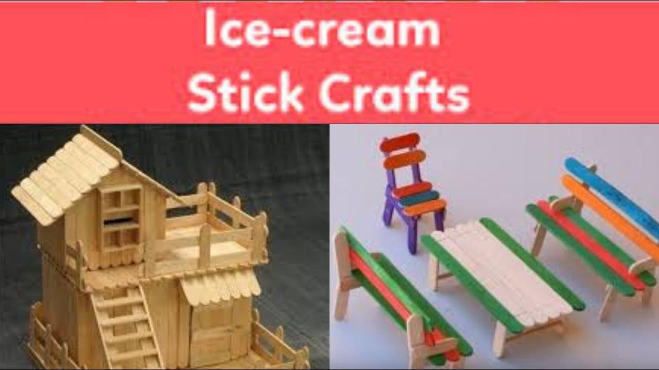 Ice Cream Stick Craft Ideas Popsicle Stick Arts And Crafts Ideas