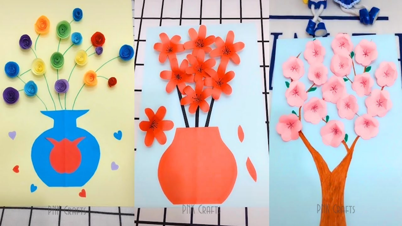 How To Make Easy Paper Crafts