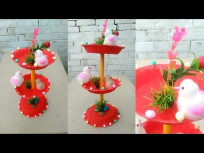 Showpiece for home decoration | best craft ideas from waste materials |