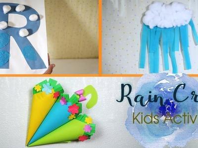 3 Rain Craft Ideas | Kids Activity | Fun DIY