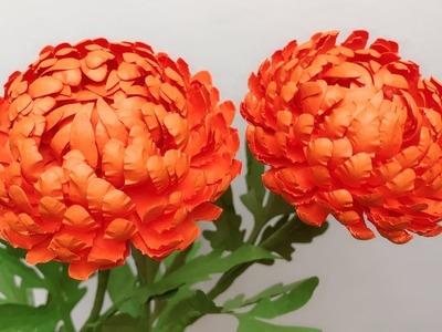 ABC TV | How To Make Chrysanthemum Paper Flower | Flower Die Cuts - Craft Tutorial